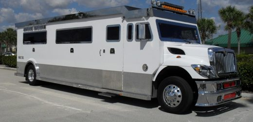 Use armored limousine for your VIP guests